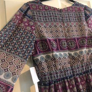 Design lab long sleeve dress
